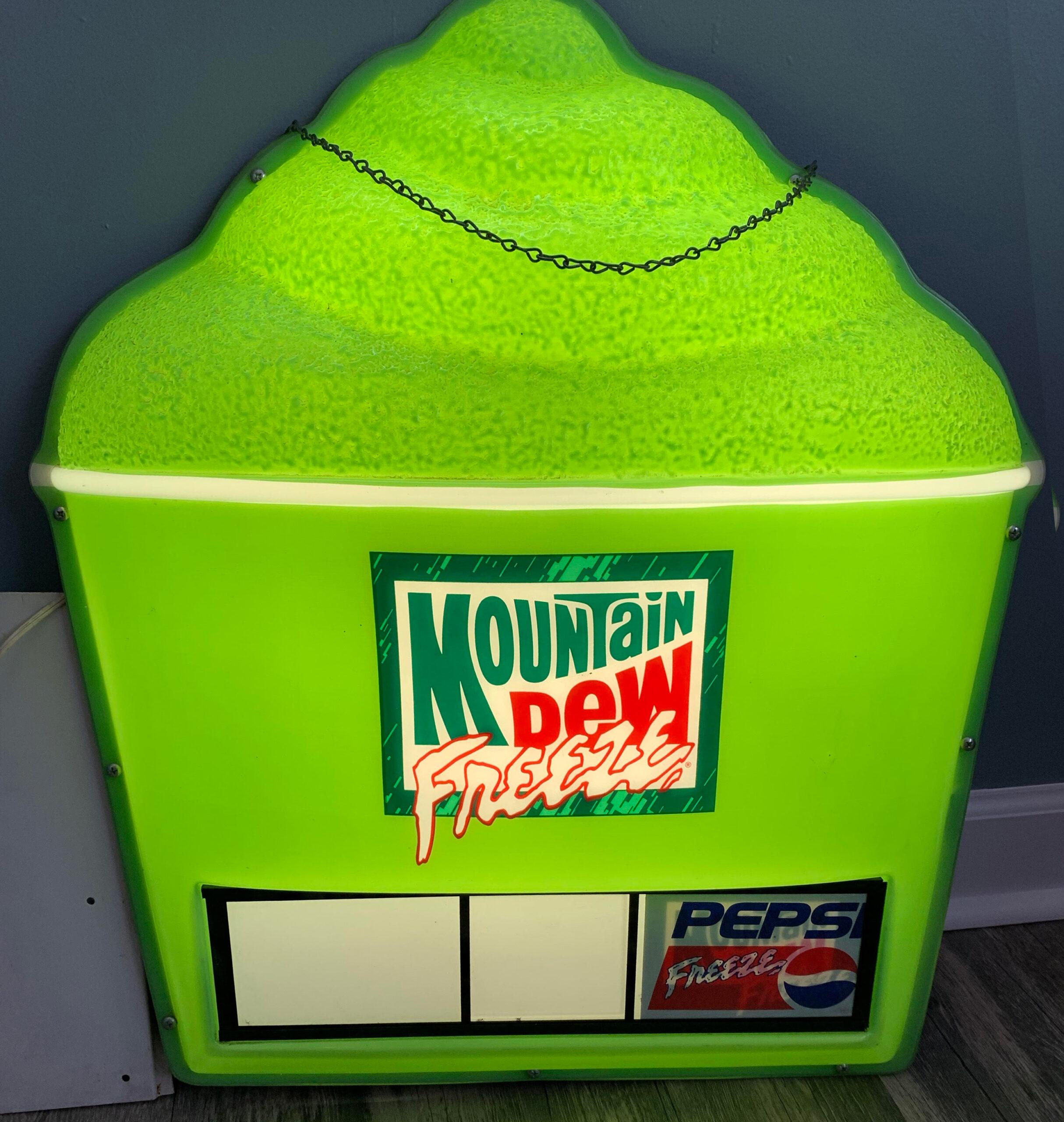 Mountain Dew Slushies